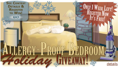 Allergy - Proof Bedroom - Holiday Giveaway!