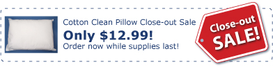 Cotton Clean Allergen Barrier Pillows