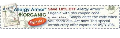 Promo Code: greensleep