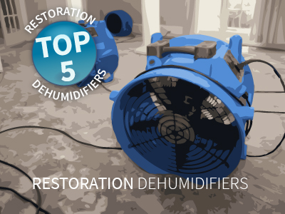 Top Five Restoration Dehumidifiers