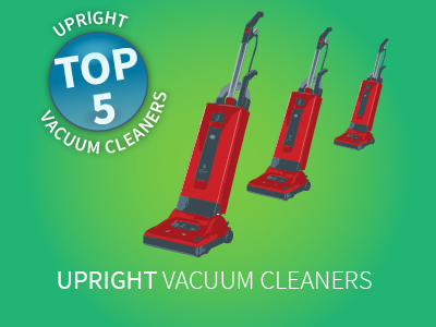 Top Five Upright Vacuums
