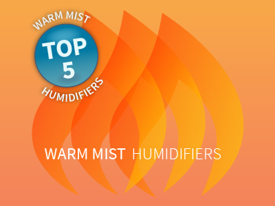 Compare Top Five Warm Mist Humidifiers
