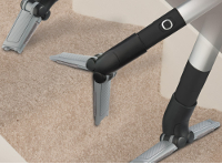 3-in-1 Versatool Combines a Crevice Tool, Stairs Cleaner and Upholstery Nozzle into One Convenient Attachment