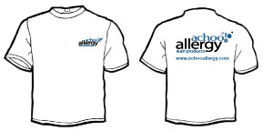 achoo! ALLERGY 100% Cotton T-Shirts