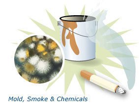 Solutions to the Problem of Indoor Air Pollution