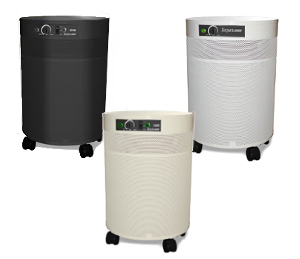 Air Pura Air Purifier Color Options: White, Cream, Black