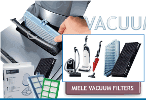 Miele Canister Replacement Vacuum Filters