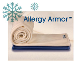 Allergy Armor Microfiber Fleece Blankets