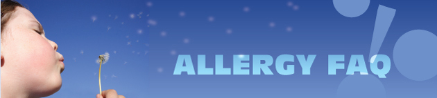 Allergy FAQs