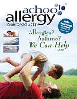 allergy relief products, air purifiers, dust mite bedding, allergy bedding