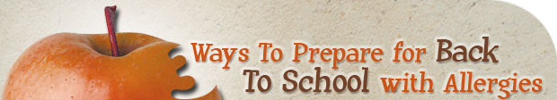 Back to School with Allergies - Preparation.