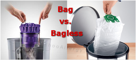 bagged and bagless vacuum cleaner