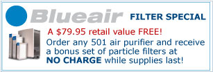 Blueair Air Purifier Sale