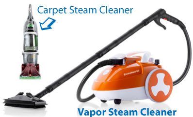 Vapor Steam Cleaners Are NOT 'Carpet Steam Cleaners'