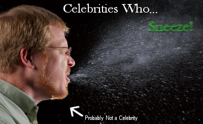 Celebrities & Allergies