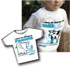 Food Allergy T-shirts for young children.