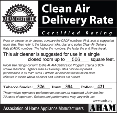 Friedrich Clean Air Delivery Certification