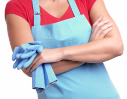 Chemicals in home cleaning supplies