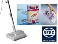 SEBO Duo Carpet Cleaning System