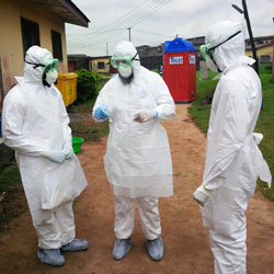 Combatting Ebola - Overkill For Most of Us