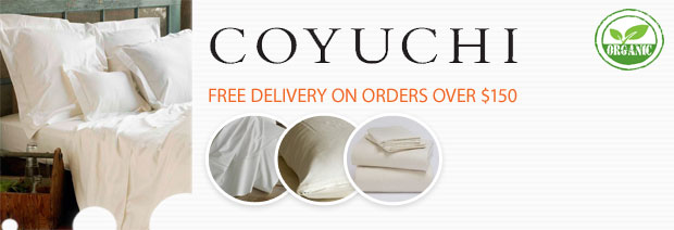 Coyuchi Organic Cotton Bedding