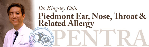 Dr. Kingsley Chin - Piedmont Ear, Nose, Throat and Related Allergy