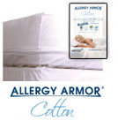 Allergy Armor Cotton Blend Dust Mite Mattress Cover