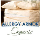 Allergy Armor Organic Dust Mite Pillow Cover