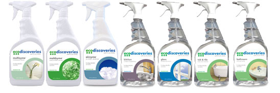 EcoDiscoveries Whole House Cleaning Kit