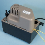 An External Dehumidifier Condensate Pump
