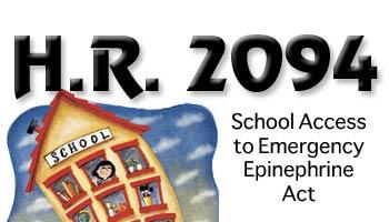 H.R. 2094 - Epinephrine in Schools