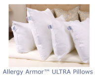 Allergy Armor Ultra Pillows