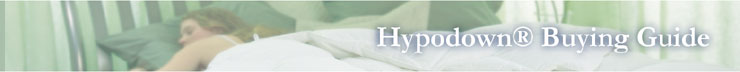 Hypodown Comforter Buying Guide