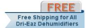 Dri-Eaz DrizAir 1200 Dehumidifier Shipping