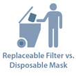 Choosing Disposable Masks vs. Masks with Replaceable Filters