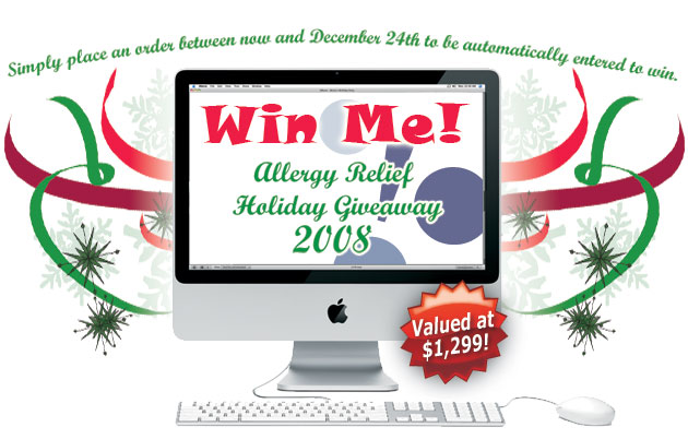 achooallergy.com win an imac