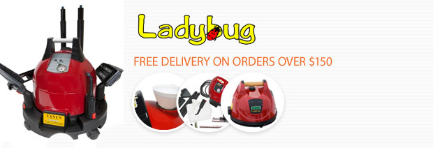 Ladybug Vapor Steam Cleaners