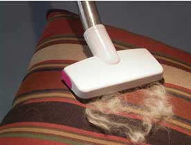 Lint Brush Vacuum Attachment