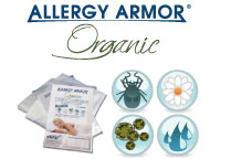 Allergy Armor Organic Allergy Relief Bedding