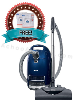 Two Free Boxes of Filterbags with Each Miele Marin Vacuum
