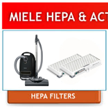 Miele Replacement HEPA Filters