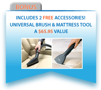 Free Bonus Accessories with Every Miele S7 FreshAir Vacuum!