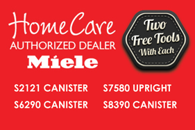AchooAllergy.com is an Authorized Miele HomeCare Dealer