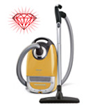 New at AchooAllergy.com Miele Leo Vacuum Cleaner