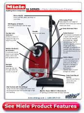 Miele Libra Vacuum Cleaner Details
