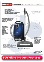Miele Marin Canister Vacuum Cleaner Detail