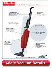 Miele H1 Swing Stick Vacuum Cleaner Details