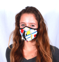 New Allergy Mask - Vogmask Mondrian