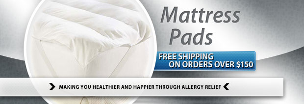 Allergy Friendly Mattress Pads