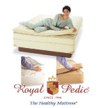 Royal-Pedic Organic and Cotton Mattress Pads